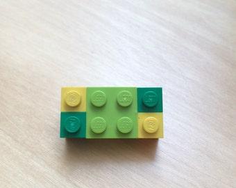Lego Pin Repurposed Lego pieces