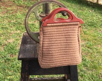 SaNd  dUne bag in wool