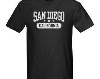 San Diego California T-Shirt All Sizes And Colors New