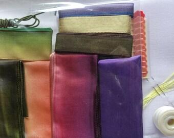 Starter Pack for Making Ribbon Flowers