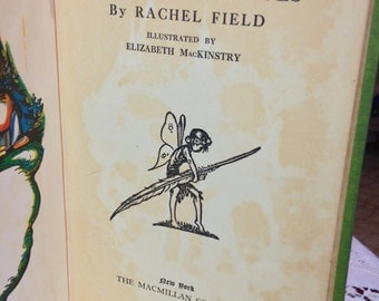 Eliza and the Elves Book by Rachel Field 1926 Whimsical Stories and Poems