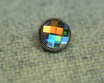 Crystal swarovski button