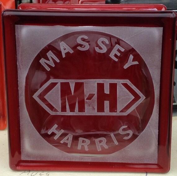 massey harris glass block