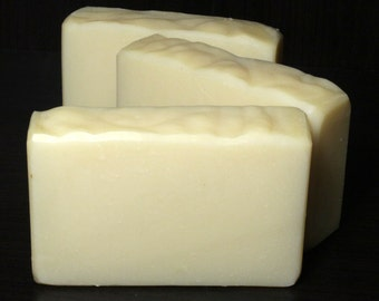 SALE - Unscented, Natural Soap - Full Size