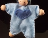 HOLIDAY 2017 SALE!! Brother Heart Posing  Doll - Pale Blue