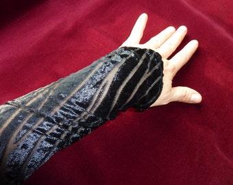 Black Sleeves in Flames design