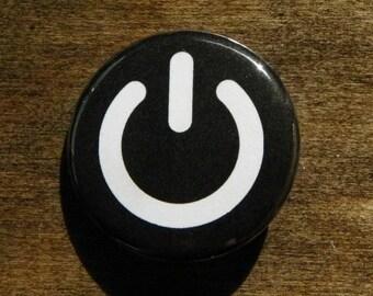 "Power Symbol 1.25"" Pinback Button"