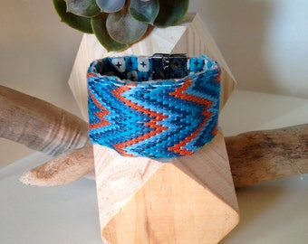 """Embroidered cuff """"Navajo"""""""
