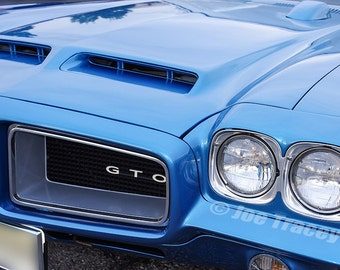 1972 Pontiac GTO, Automobile Photography, Classic Cars, Automotive Decor, Classic Automobiles, Muscle Cars, Wall Art, Car Pictures