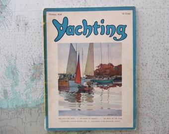 Yachting Magazine ~ October, 1946