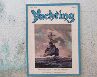 Yachting Magazine ~ October, 1945