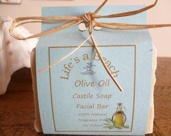 Natural Castile Olive Oil Soap Bar