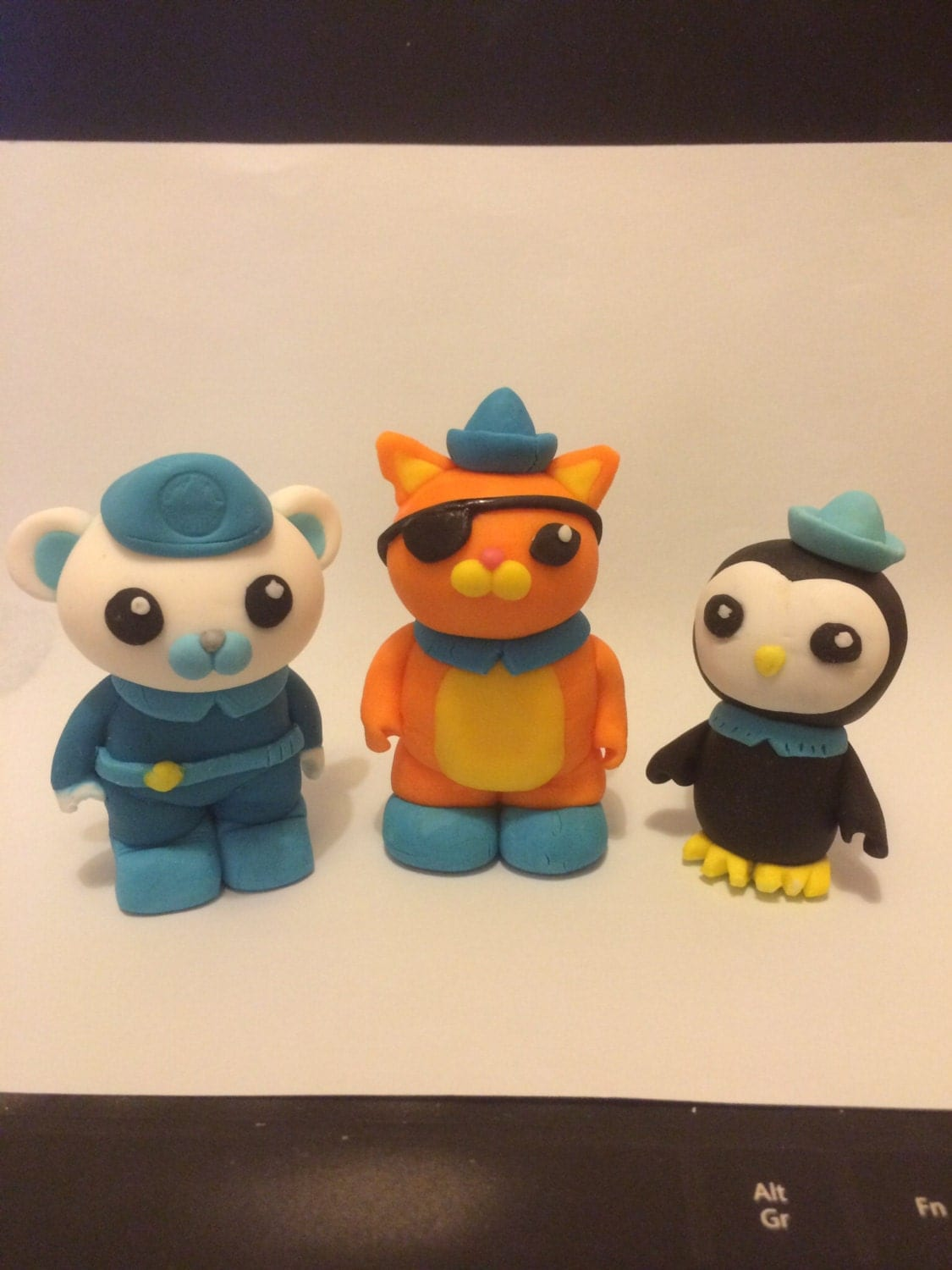 Octonauts sugar icing cake toppers 10 days for making