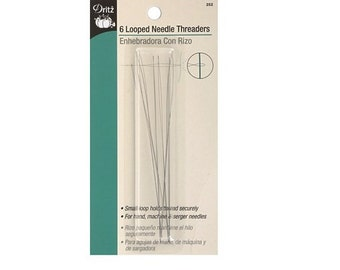 Looped Needle Threader by Dritz Notion ~6 Per Pack D252