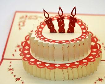 Happy Birthday Card - Handmade Birthday Card - Happy