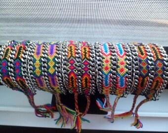 double chain friendship bracelets