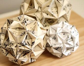 Handmade Origami Diamond Kasudama