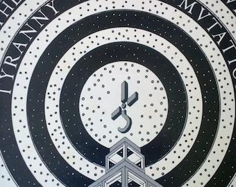 "1973 Blue Oyster Cult ""Tyranny & Mutation"" Vintage Vinyl Record Album LP No UPC Original Gd Cond Columbia First Press Heavy Metal 12"" 33 rpm"