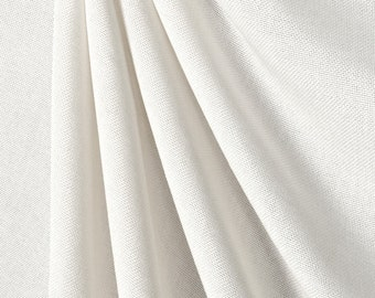 """Polyester Linen Fabric / 60"""" Wide / Sold by the yard."""