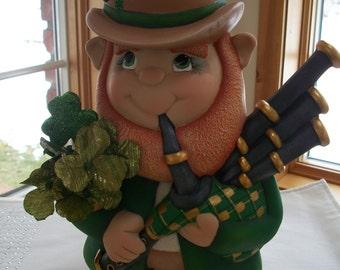 Ceramic Leprechaun St.Patrick's Day Decoration