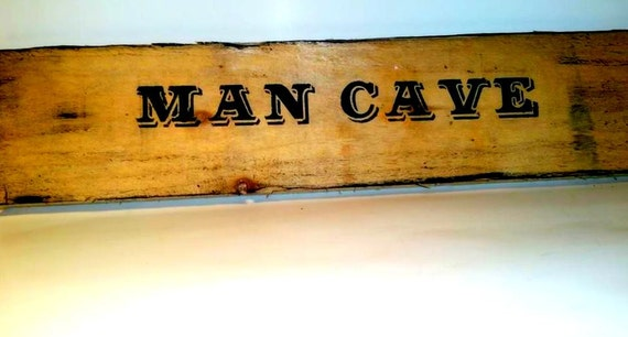 Rustic Man Cave Sign : Man cave rustic wood sign garage wall by customcountrydesign
