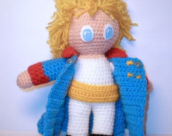 The Little Prince Amigurumi doll