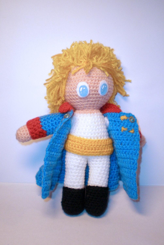 Amigurumi Small Doll : The Little Prince Amigurumi doll by Lallila on Etsy