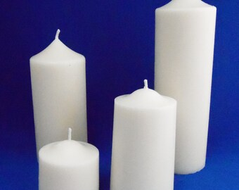 Handmade Soy Pillar candle - Large 13cm Tall