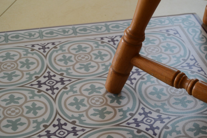 Kostenloser Versand Fliesen Muster Dekorative PVCVinyl Matte