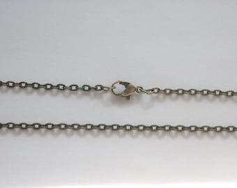 Antique Bronze Vintage necklace chain, pendant chain, Antique Bronze chain, necklace chain, jewelry chain, charm chain