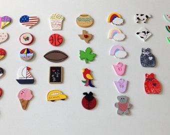Mini Wooden Decorations