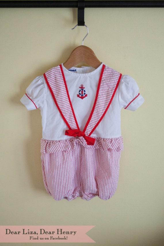 Vintage Sailor Outfit 91
