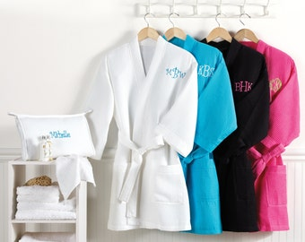 Spa Robe Only - Choice of 4 Colors (c113-1105) - Free Personalization