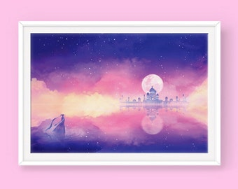 Sailor Moon Poster: The Silver Millennium