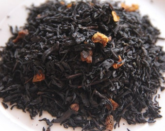 Cinnamon Orange Blended Loose Leaf Black Tea