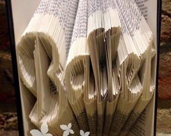 Book Folding Pattern 'Ballet' (285 Folds) PDF & Tutorial - Immediate Download