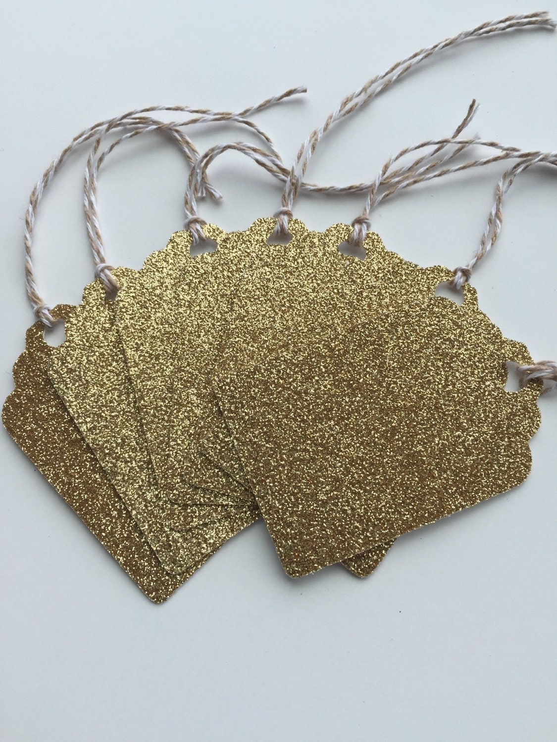 Baby Gift Gold : Gold glitter gift tags bridal shower baby by