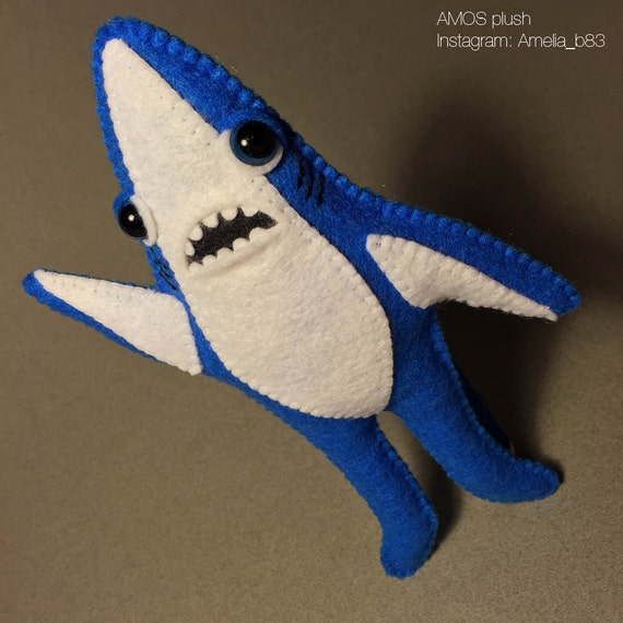 Shark Plush Toys : Left shark inspired plush doll toy softie leftshark
