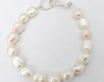pearl bracelet/ weddingbracelet/ freshwater pearl bracelet