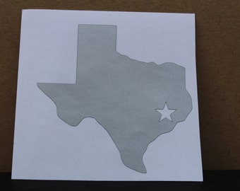 State Vinyl Decal size 4.5inX4.5in