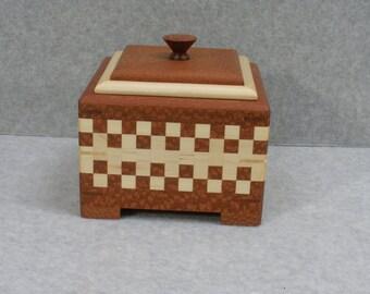 Hand made wood Box