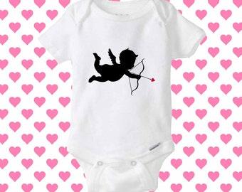 Cupid love baby onesie, shirt baby onesie, baby onesie clothing
