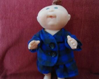 Cabbage Patch premie boy pajamas