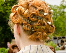 Forties Pin Curls Photograph