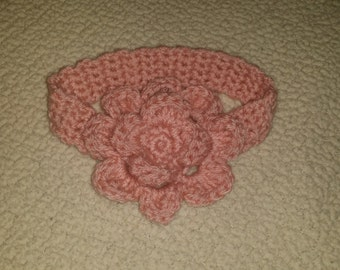 Flower Crochet Headband, made to order
