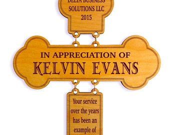 Achievement Award, Employee Appreciation Gift, President, Director Award, Employee Recognition, Thank you Gift, Service / Excellence Award.