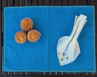 Baby placemat & napkin set
