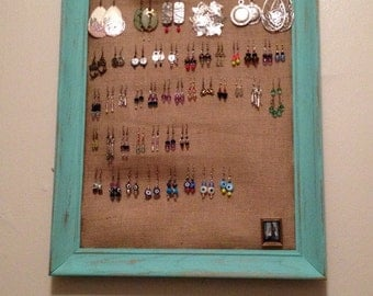 Shabby Chic Earring Display