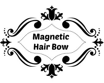 Magnetic Hair Bow Add On