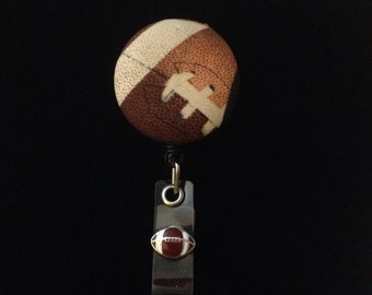 Football Fans -Nurse Retractable ID Badge Reel/ RN Badge Holder/Doctor Badge Reel/Nurse Badge Holder/Student Nurse badge reel/ nursing gift/